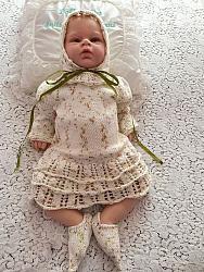 Knitting Pattern No.93 - Newborn to 9+ Month Pixie Dress Vest