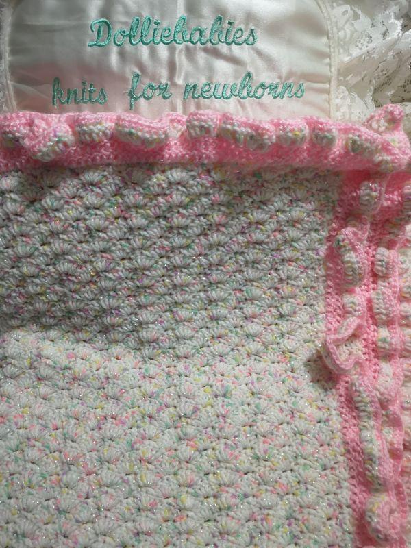 Crochet Pattern No. 1 - Stroller Sized Blanket