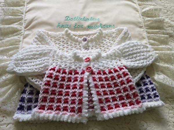 Reborn or Baby Girl Layette Knitting Pattern