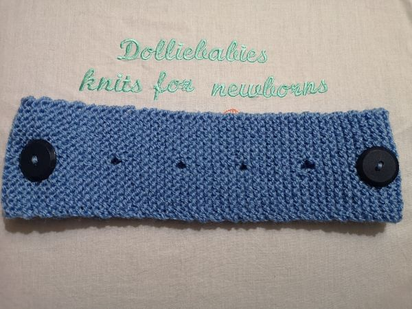 Care Workers Headband for Masks Knitting Pattern