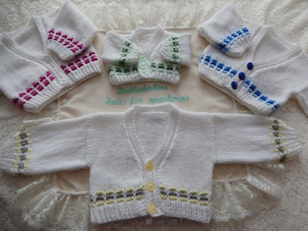 Knitting Pattern Book No.2 - Unisex Layette - PDF FORMAT ONLY
