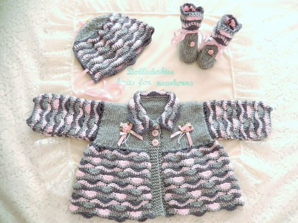 Knitting & Crochet Combination Pattern