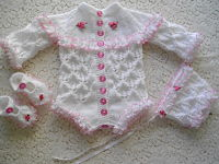 Knitting Pattern No.24 Vest/Onsie/Romper set 0-3 months