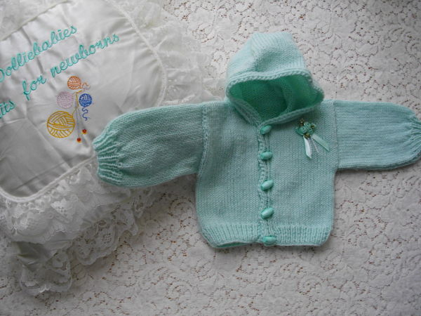 Knitting Pattern No.02  My First Hoodie