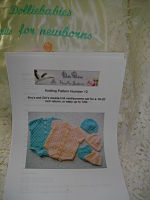 Baby and Reborn Doll Size Knitting PATTERNS