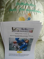 Reborn Doll Size Only Knitting PATTERNS
