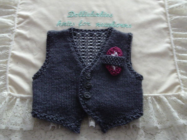 Knitting Pattern No.61 Newborn-6 Months Boys Formal Suit