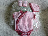 Knitting Pattern No.65 Girl's Side Buttoning Vest