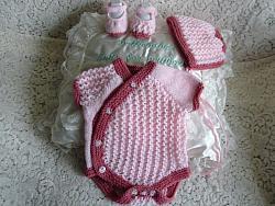 Knitting Pattern No.65 Girl's Side Buttoning Vest