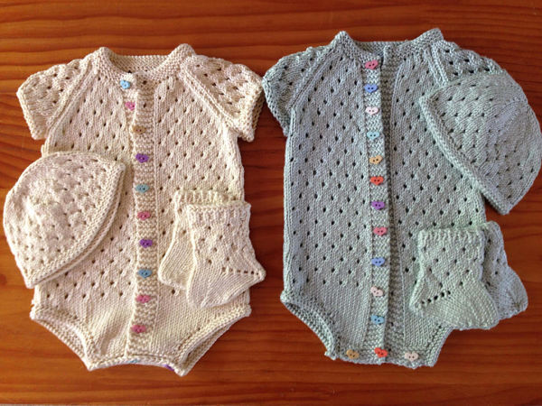 Knitting Pattern No. 13 Vest Set