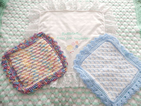 Baby Or Adult Lap Blanket Knitting Pattern In Multiple Sizes