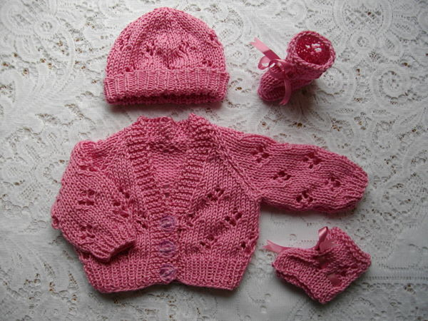 Knitting Patterns For Premature Babies : DollieBabies