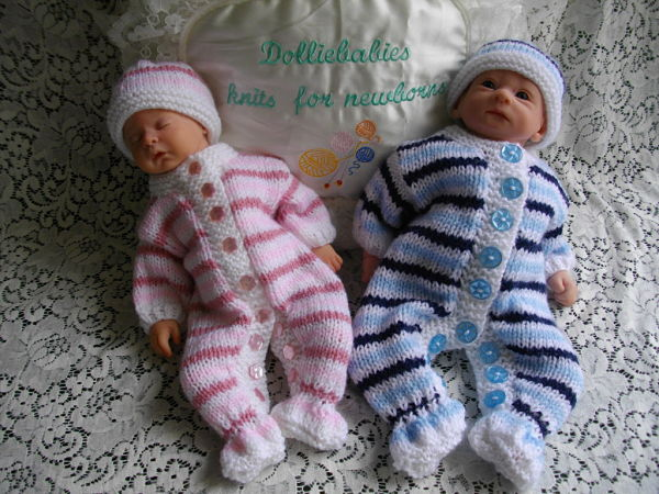 Preemie Baby Knitting Patterns : DollieBabies
