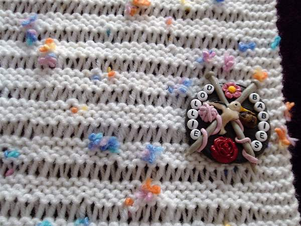 Knitting Pattern No58 Learn To Knit This Beginners Baby Blanket