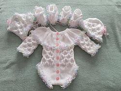 Knitting Pattern 088 gathered yoke vest