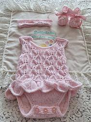 Knitting Pattern 90 Single layer dress vest