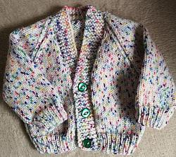 knitting pattern 001 classic baby cardigans