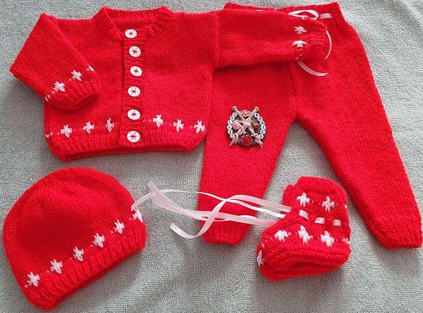 knitting pattern 94 north star cardigan set
