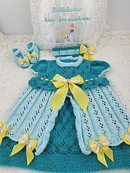 knitting pattern 100 princess party dress
