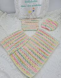 Knitting pattern 102 poncho hat and leg warmers