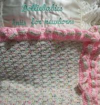 crochet pattern 01 stroller sized blanket