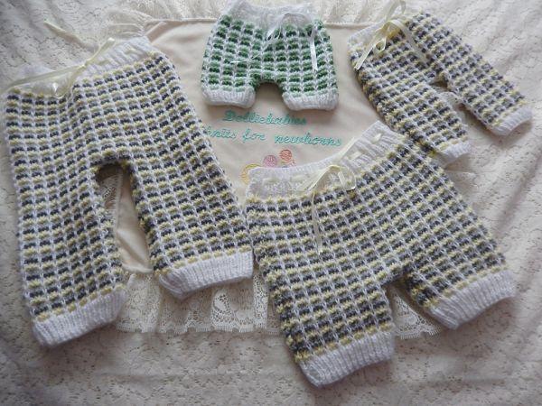 knitting pattern book 2 unisex layette