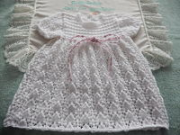 Baby dress knitting patterns