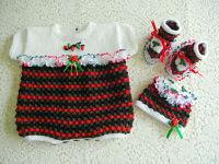knitting pattern 16 seasonal romper set