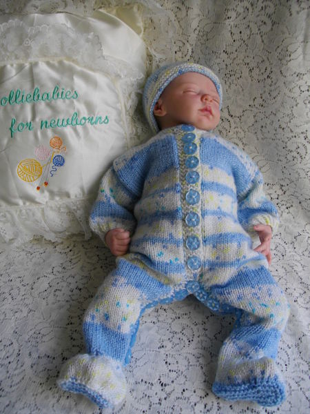 Knitting Pattern 028 unisex all-in-one