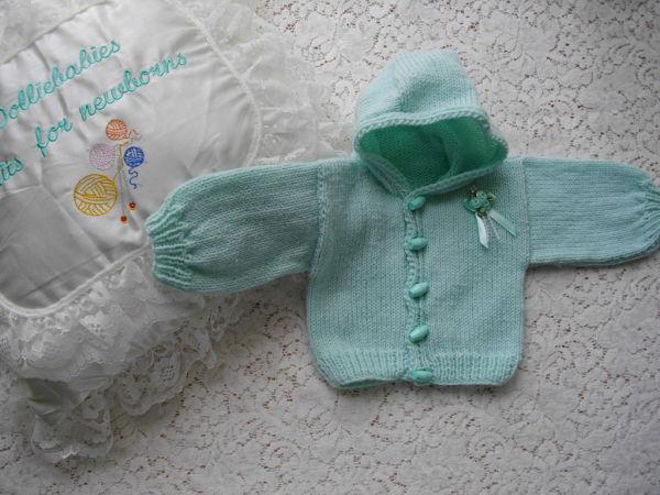 knitting pattern 02 hooded jacket