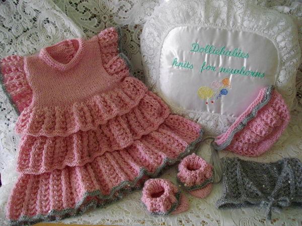 knitting pattern 034 rah rah dress